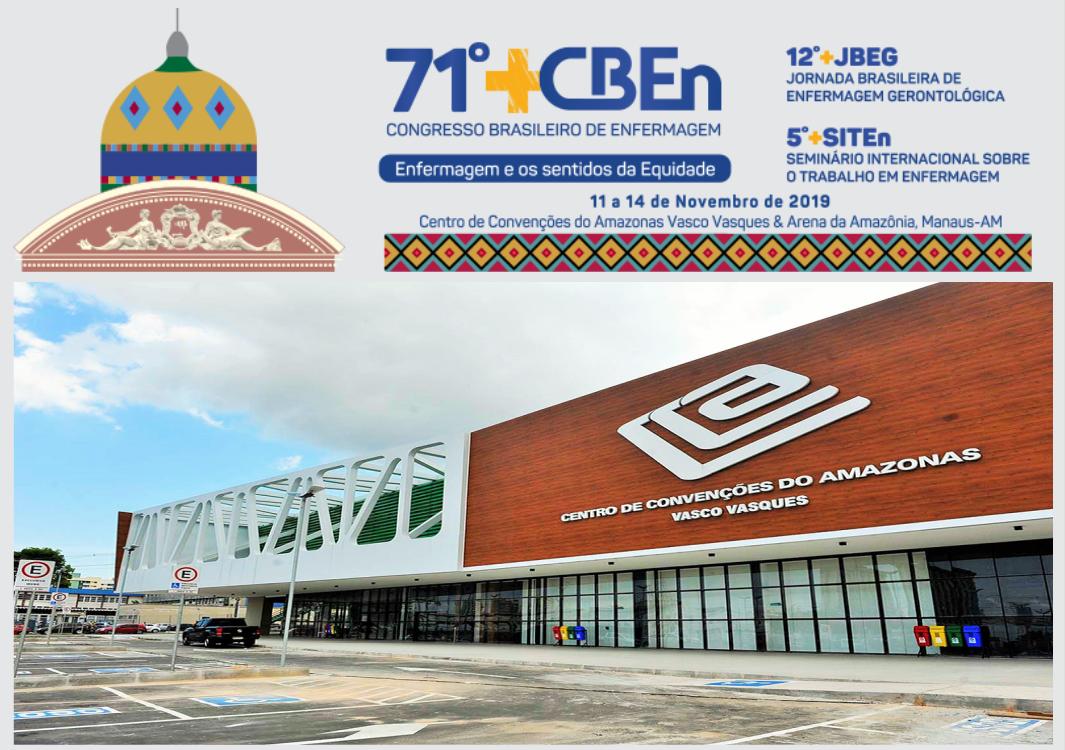 Confira os cursos e oficinas do 71° Congresso Brasileiro de Enfermagem que estão ocorrendo na EEM